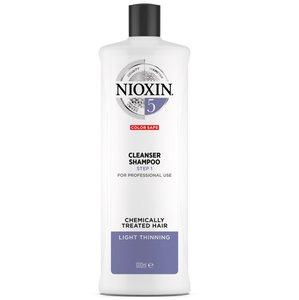 Nioxin 5號防脫髮洗髮露Cleanser Shampoo(化學處理、稀疏髮量)1L(送泵) 1000ml