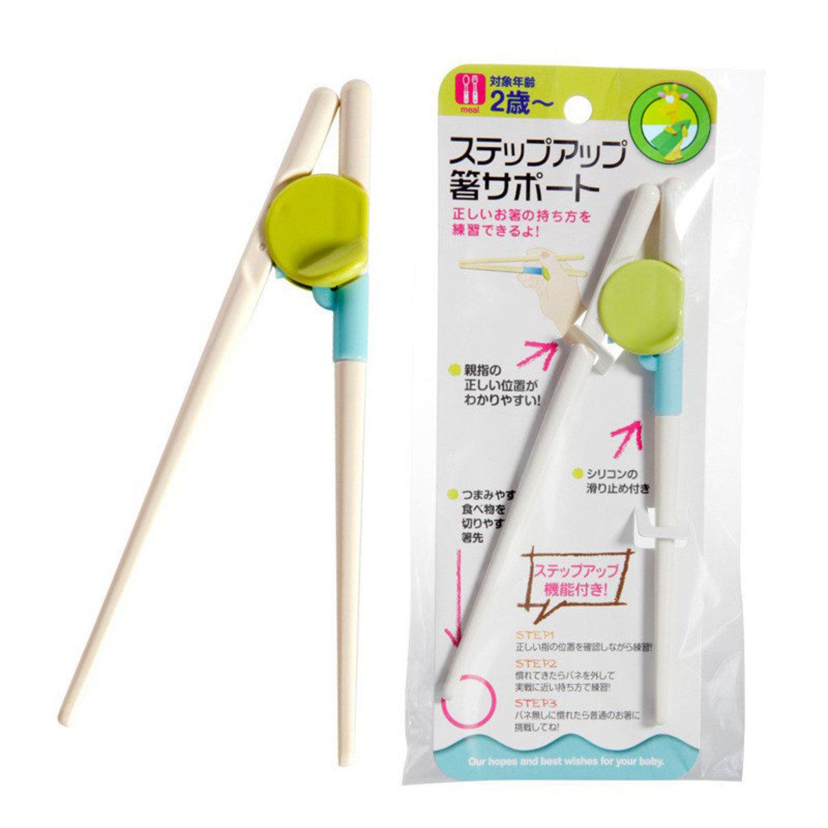 幼童學習筷子-綠色