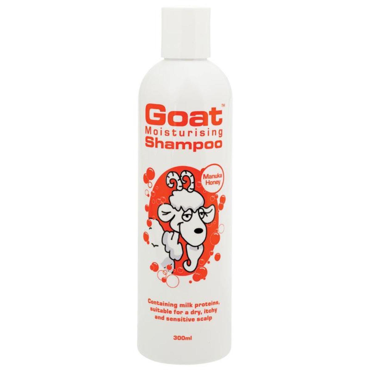Goat Shampoo with Manuka Honey 300ml (Parallel Import)