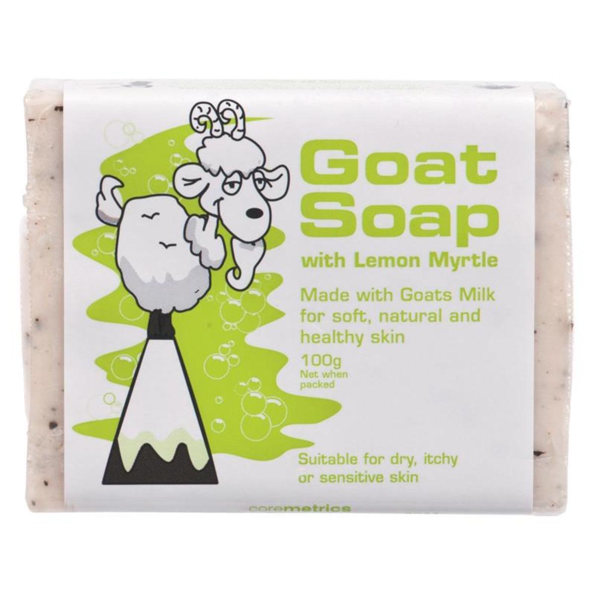 Goat Soap with lemon Myrtle 100g (Parallel Import)