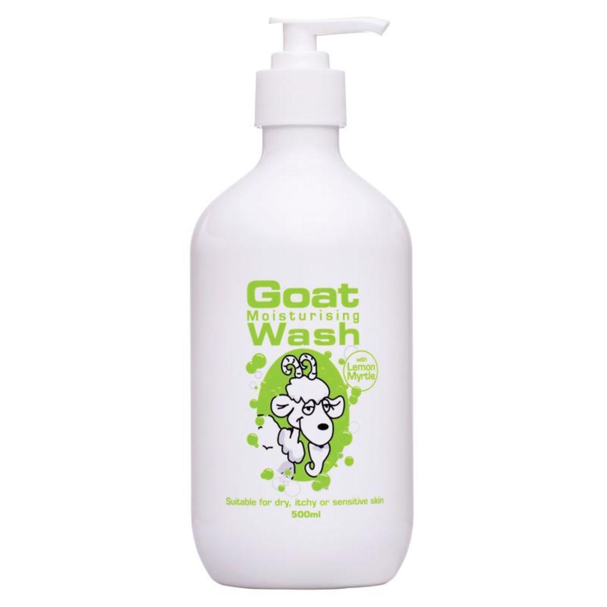 Goat Wash 山羊奶沐浴露 500ml - 檸檬香桃木 (平行進口)