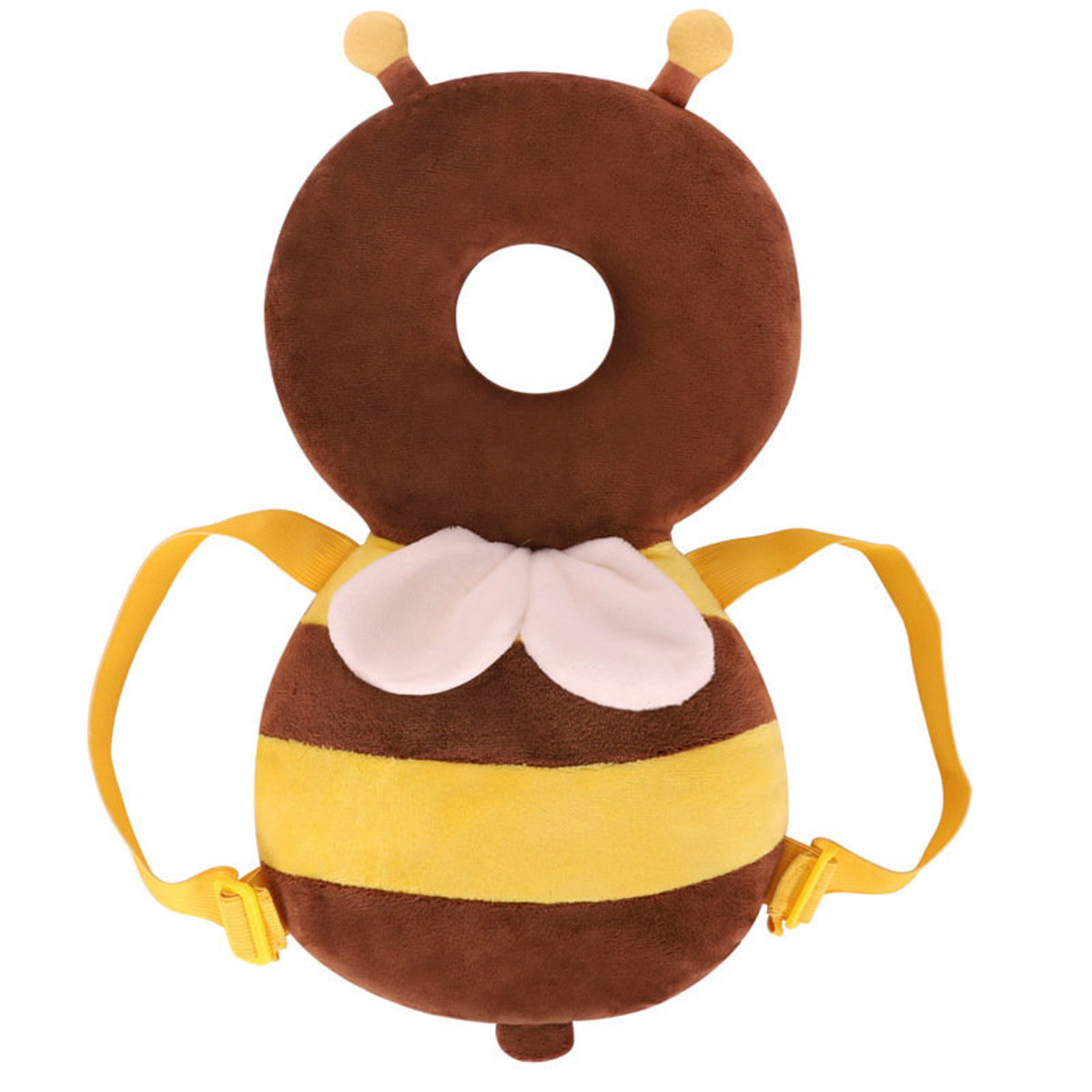 兒童防摔學步護頭枕-啡色蜜蜂