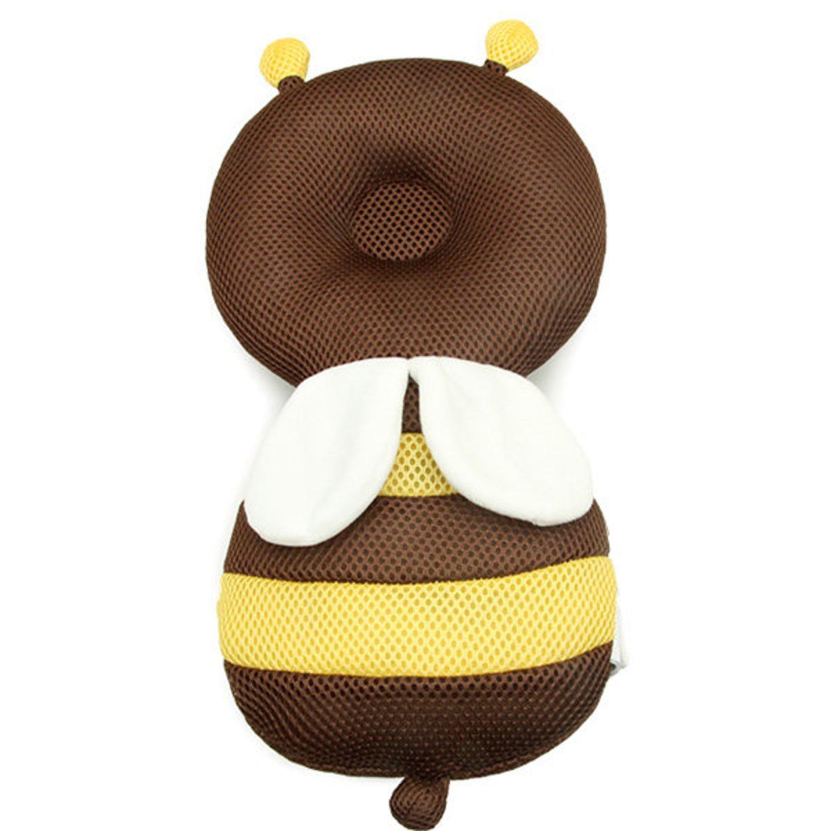 Baby Toddler Headrest Mesh - Brown Bee