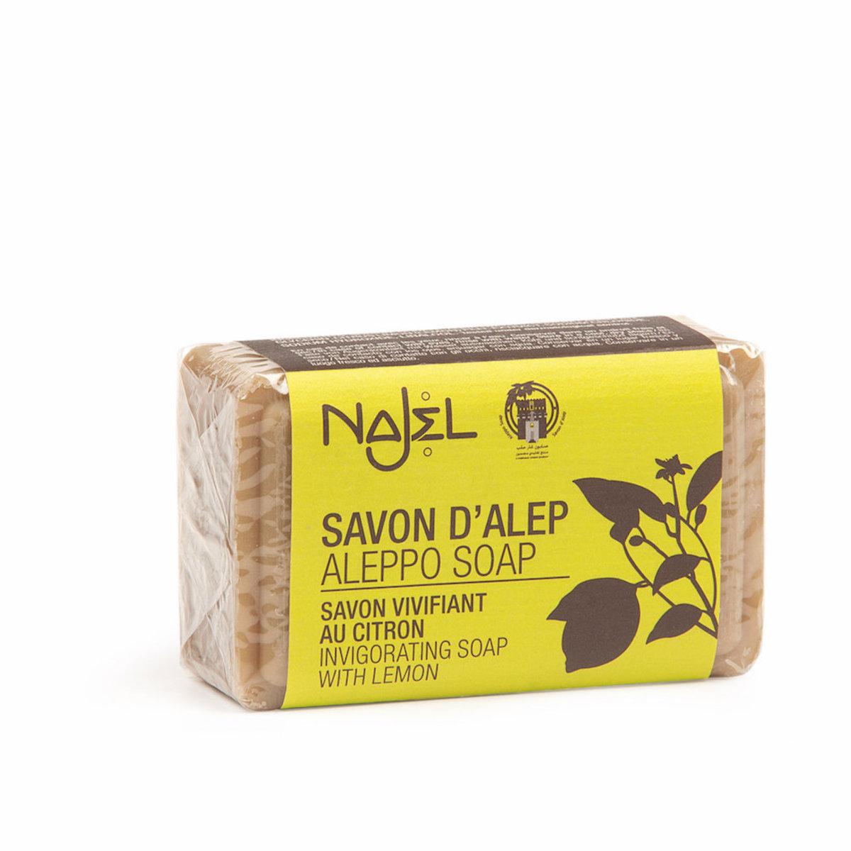 (香港行貨) Najel 檸檬精油 阿勒頗天然手工古皂
