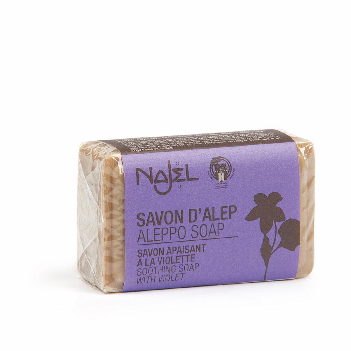 (香港行貨) Najel 有機紫羅蘭 阿勒頗天然手工古皂