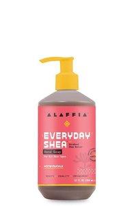 Alaffia 【原裝正貨】每日乳木果 洗手液 - 金銀花, 12盎司/354 毫升