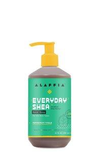 Alaffia 【原裝正貨】每日乳木果 洗手液 - 薄荷叮噹, 12盎司/354 毫升