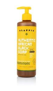 Alaffia 【原裝正貨】真正非洲黑皂 - 桉茶樹味, 16盎司/476 毫升