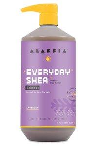 Alaffia 【原裝正貨】每日乳木果 洗髮水 - 薰衣花草香味, 32盎司/950 毫升