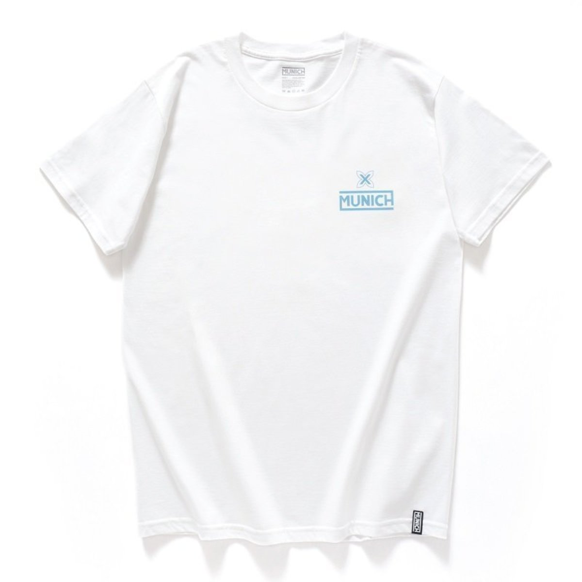 """【Official】- Spain High-density Print Tee, """"Logo"""", White (2 Colors Available)"""