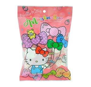 Hello Kitty 【$45自選3件】士多啤梨味夾心棉花糖 100g