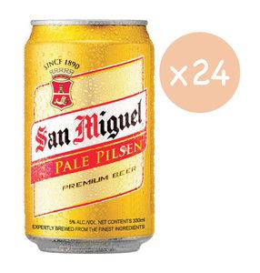 市集啤酒 生力啤酒 -San Miguel Pale Pilsen Premium Beer 原箱  (罐裝- 24 x 330ml) 24 x 330ml
