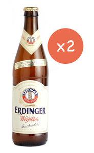 市集啤酒 艾丁格小麥白啤酒  - Erdinger Wheat Beer  -(樽裝 - 2 x 500ml)