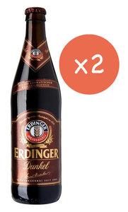 """市集啤酒 黑啤 艾丁格小麥黑啤酒  - Erdinger Wheat Beer """"DARK""""  (樽裝 - 2 x 500ml)"""