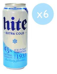 市集啤酒 HITE EXTRA COLD  海特 1933啤酒 (罐裝-  6 x 500ml)