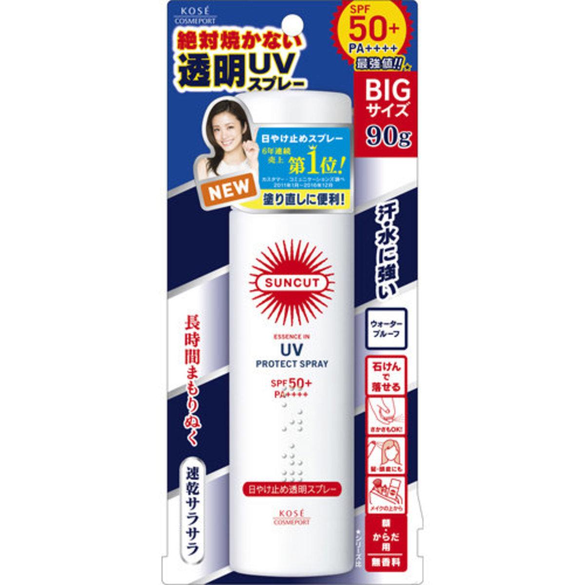 Kose Sun Cut UV Spray SPF50+ PA ++++    ( Non - Fragrance )  (#4971710391817)