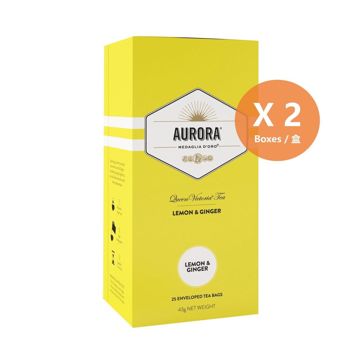 檸檬薑茶 - 2盒裝