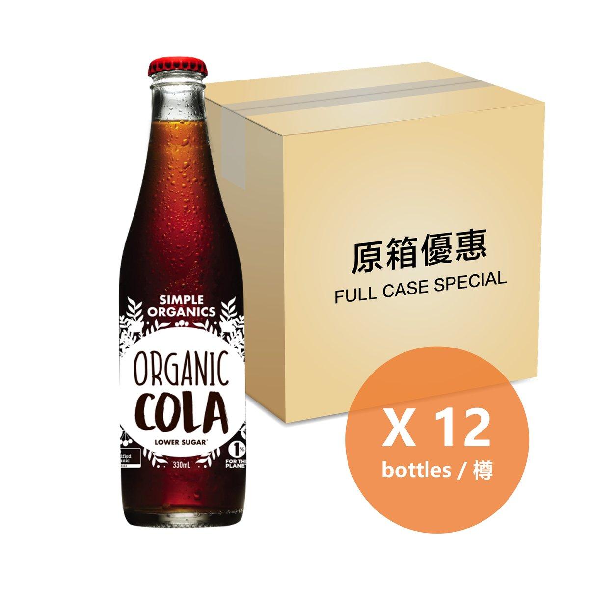 [原箱] 有機可樂 - 325毫升樽裝