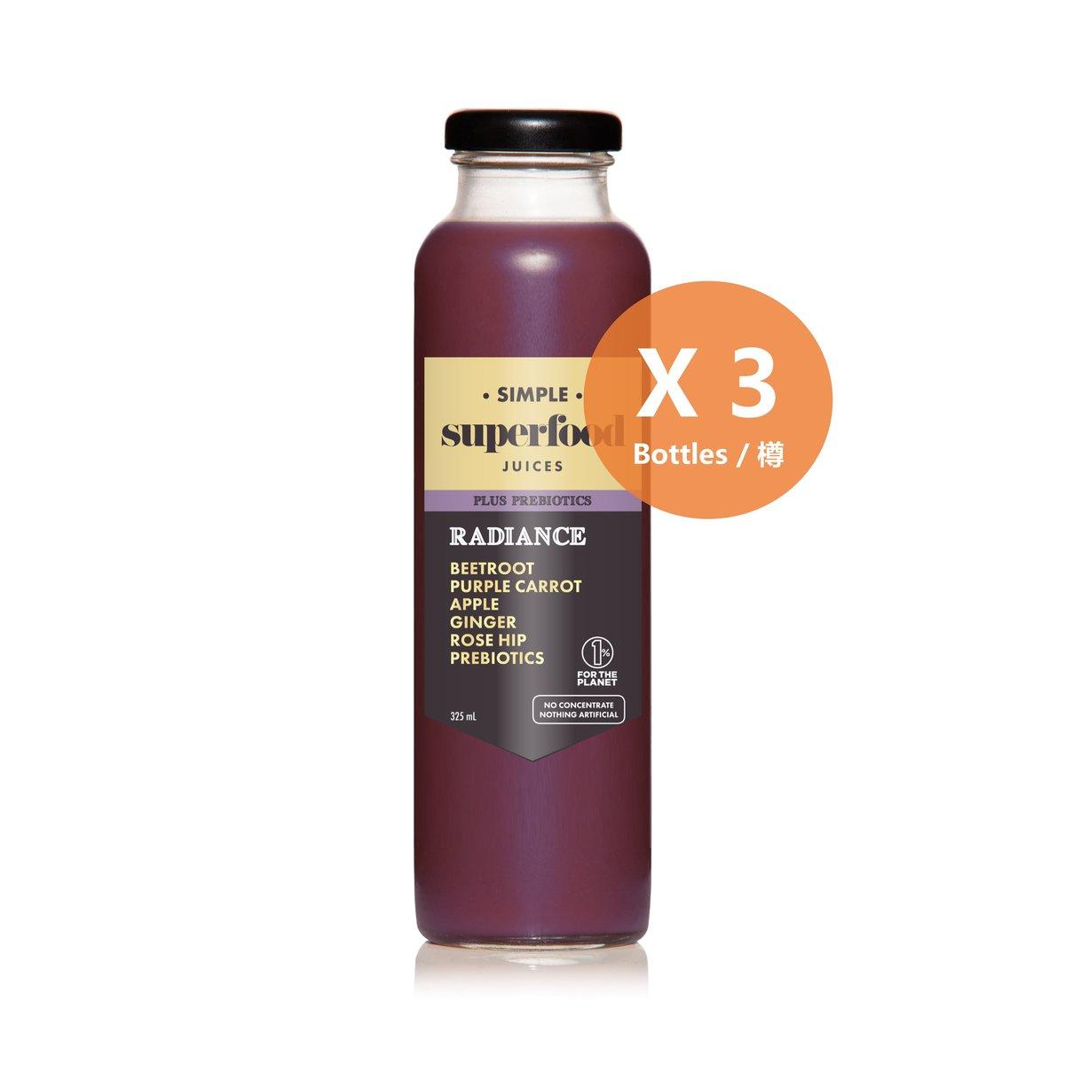 明目養顏益生元果汁 - 325毫升 x 3樽裝