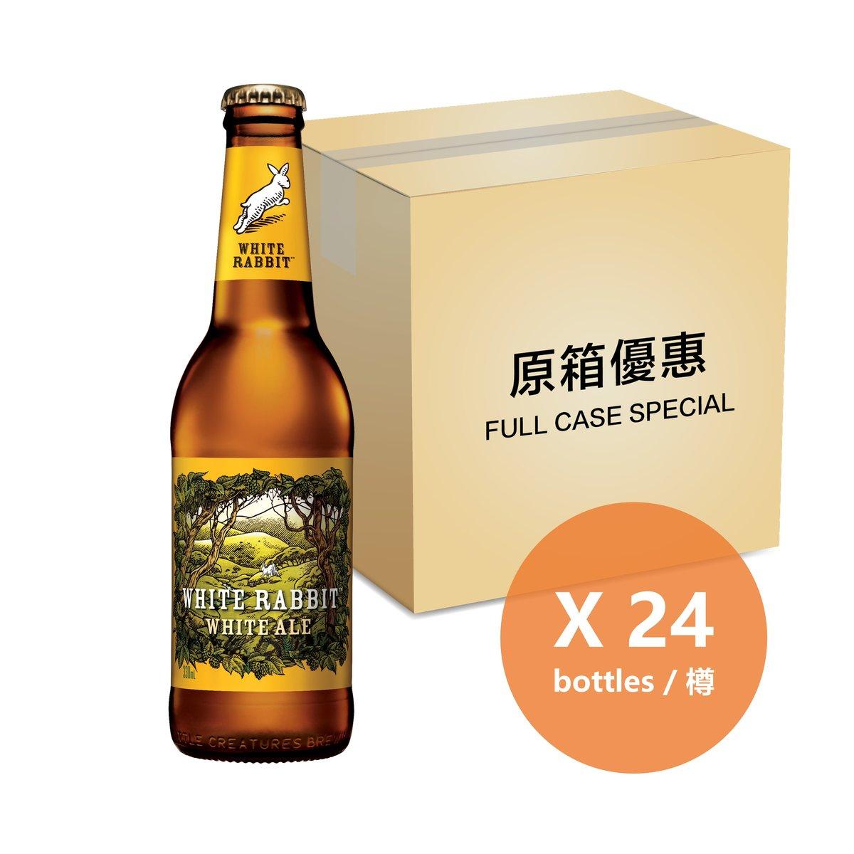 [原箱] 比利時風白啤 - 330毫升樽裝