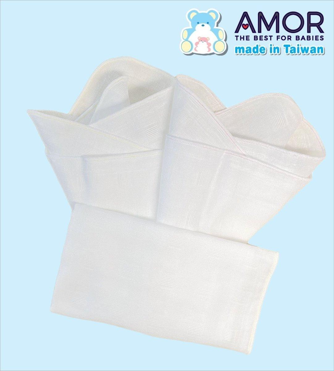 Combed Cotton MiT-Gauze handkerchief 30cm X 32cm - 6 pcs set *HOT*