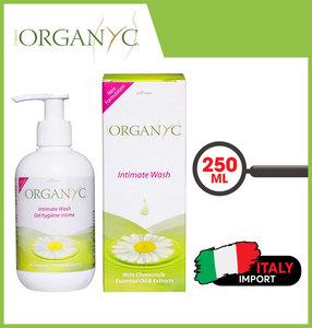 Organyc 敏感肌膚私密洗潔液 (250毫升) 1瓶250毫升