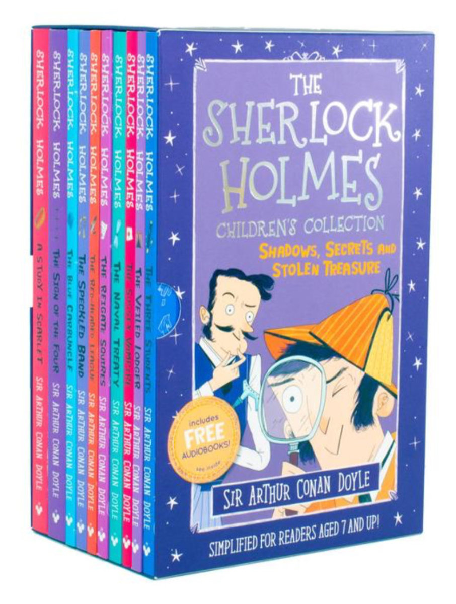 The Sherlock Holmes Children's Collection (Shadows, Secrets and Stolen Treasure) (10 books)