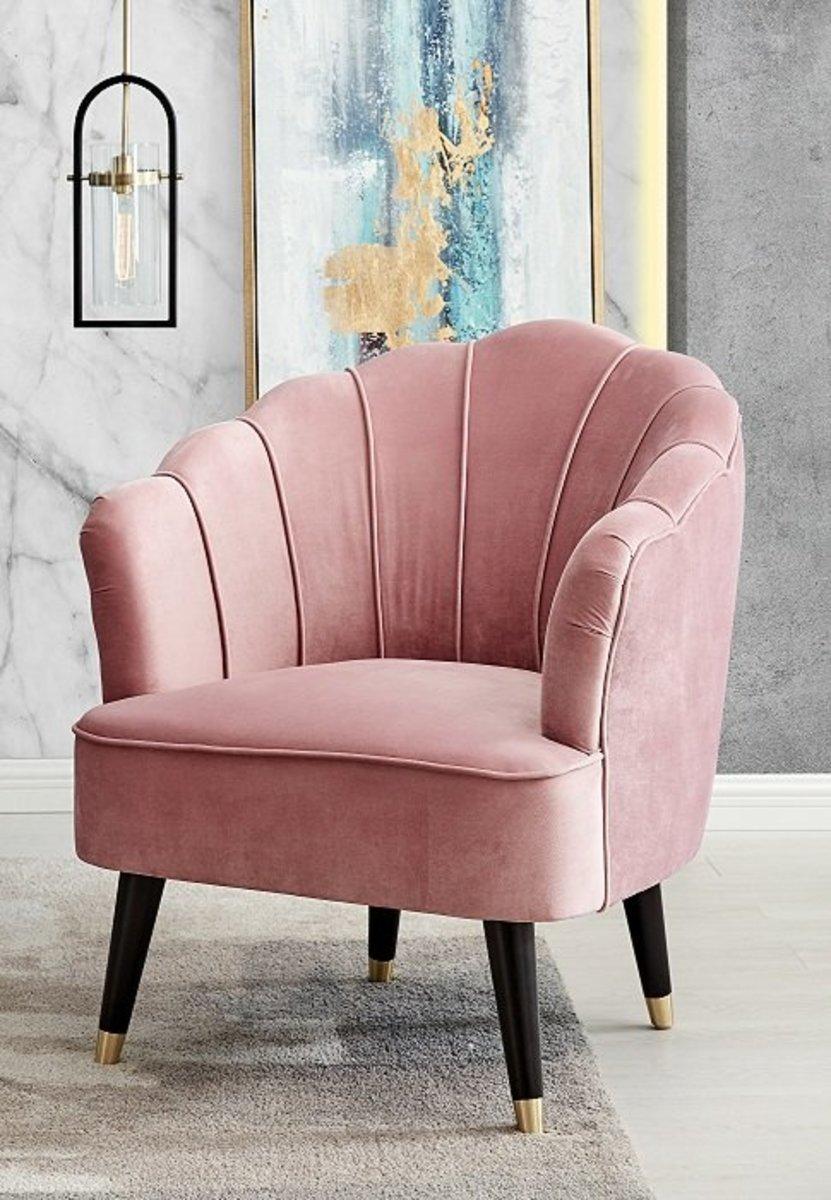 粉色單人椅