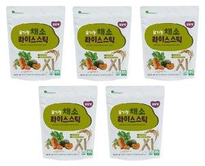 RENEWALLIFE 有機米條 (蔬菜味) X 5包裝