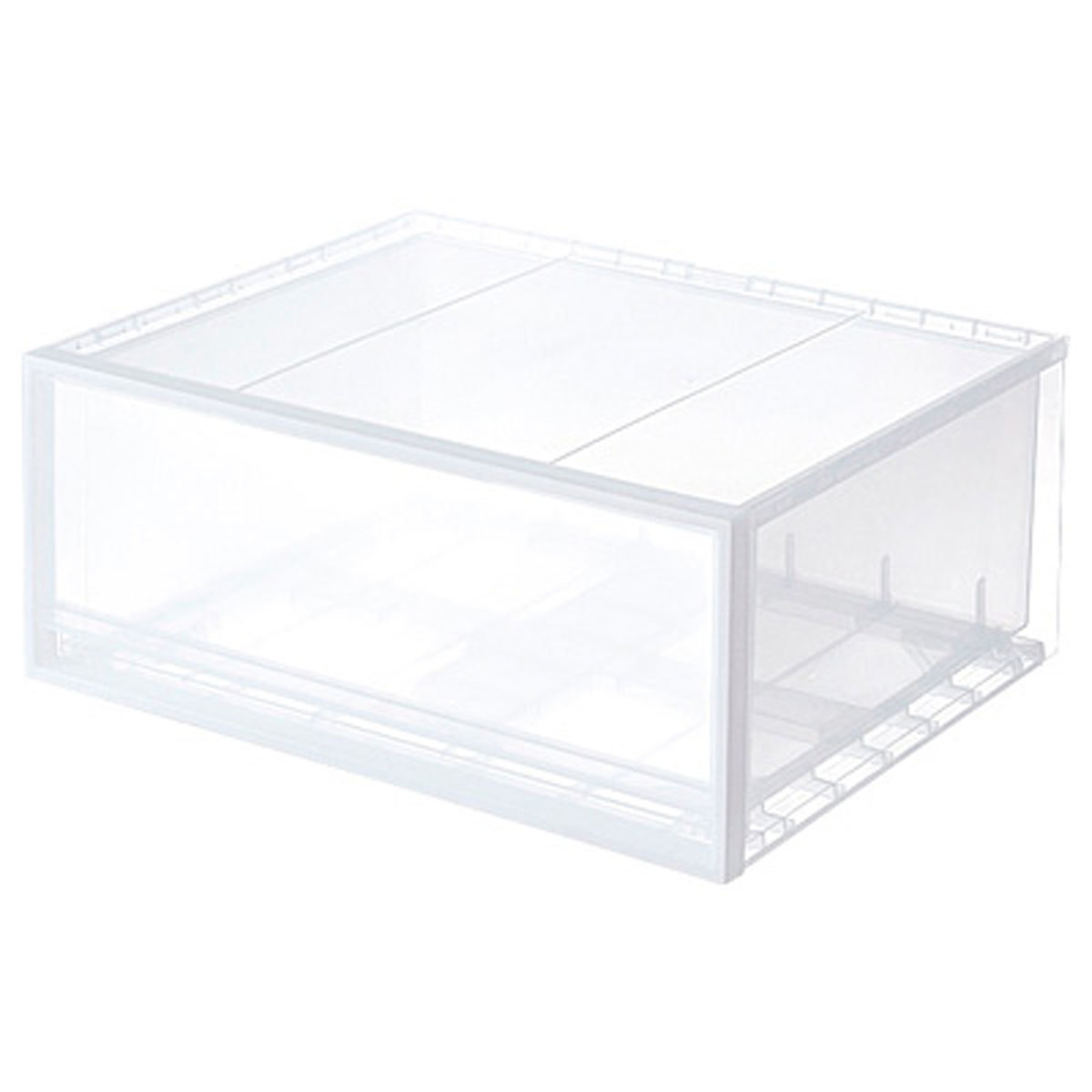 PP橫型抽屜儲物箱 (B) 大
