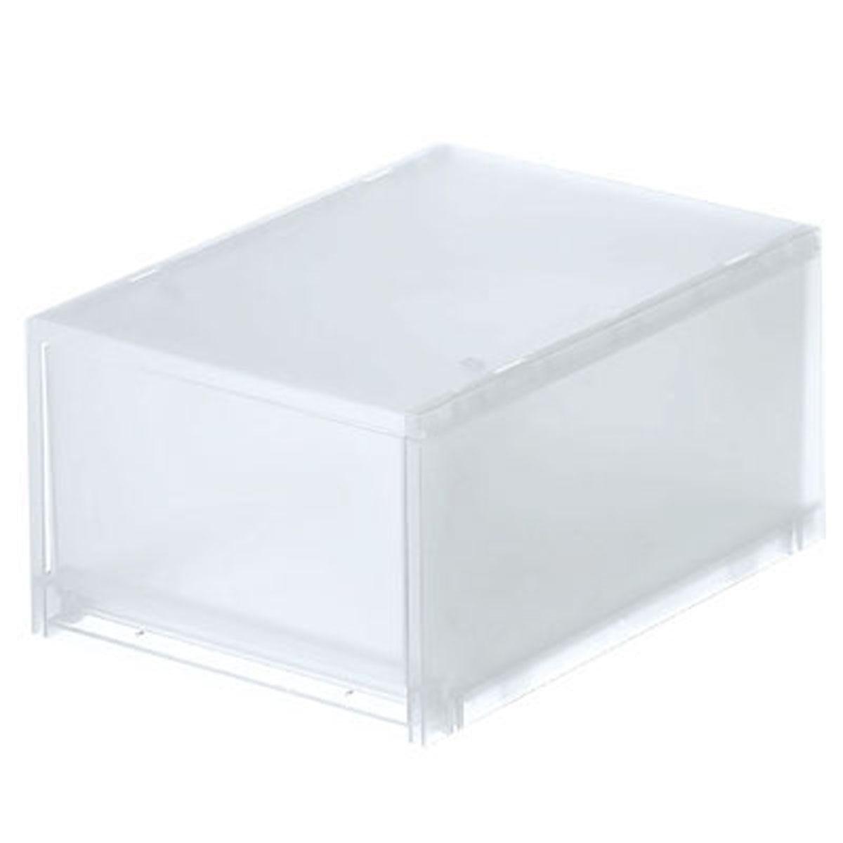PP單層抽屜儲物箱 (D) 深