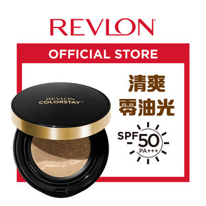Revlon 持久無瑕裸光氣墊粉餅, SPF 50 PA+++ 004 Buff 自然暖膚色