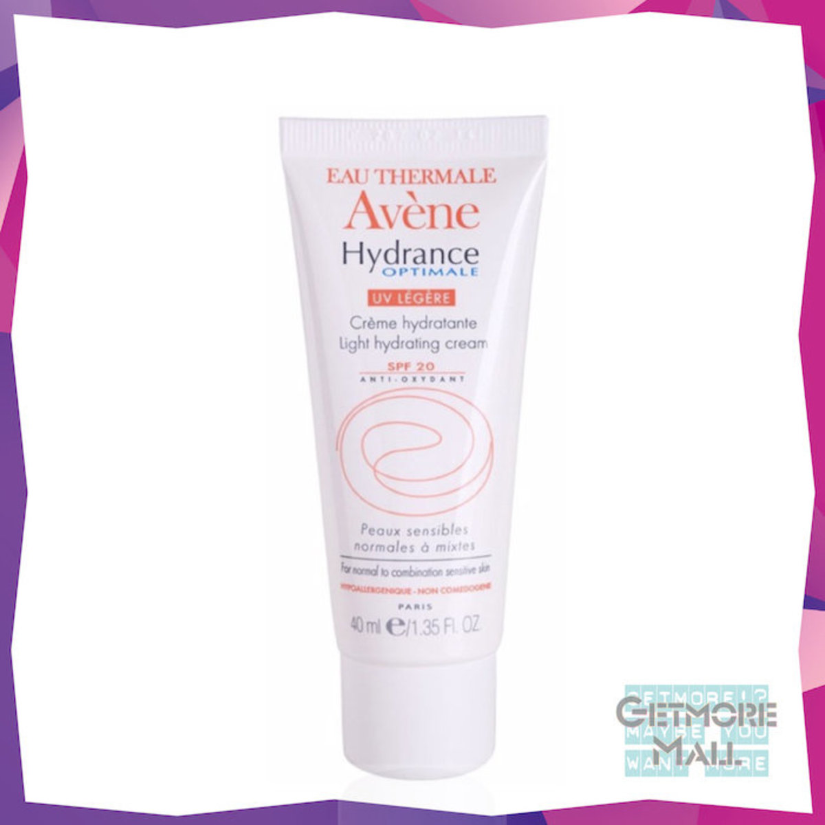 Hydrance Optimale UV Light Hydrating Cream SPF 20 40ml
