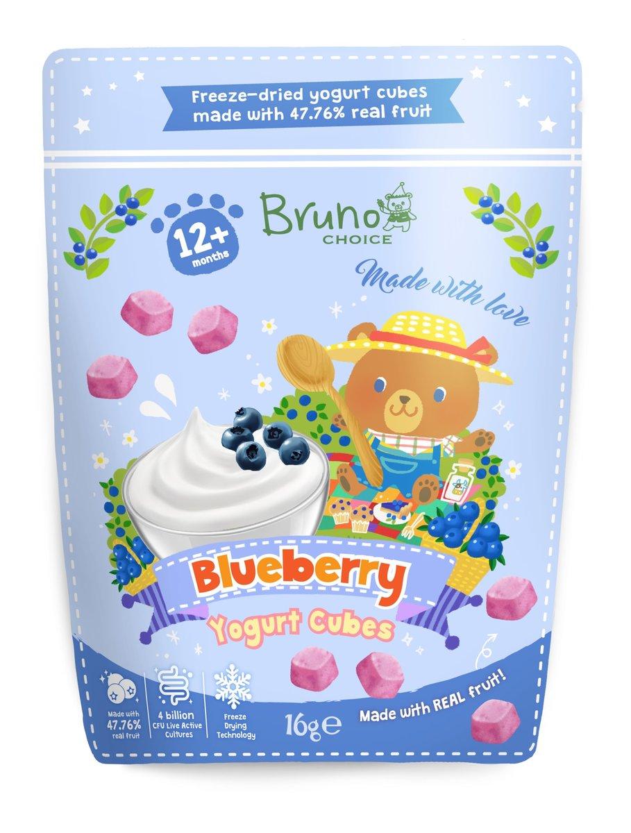 Blueberry Yogurt Cubes 16g