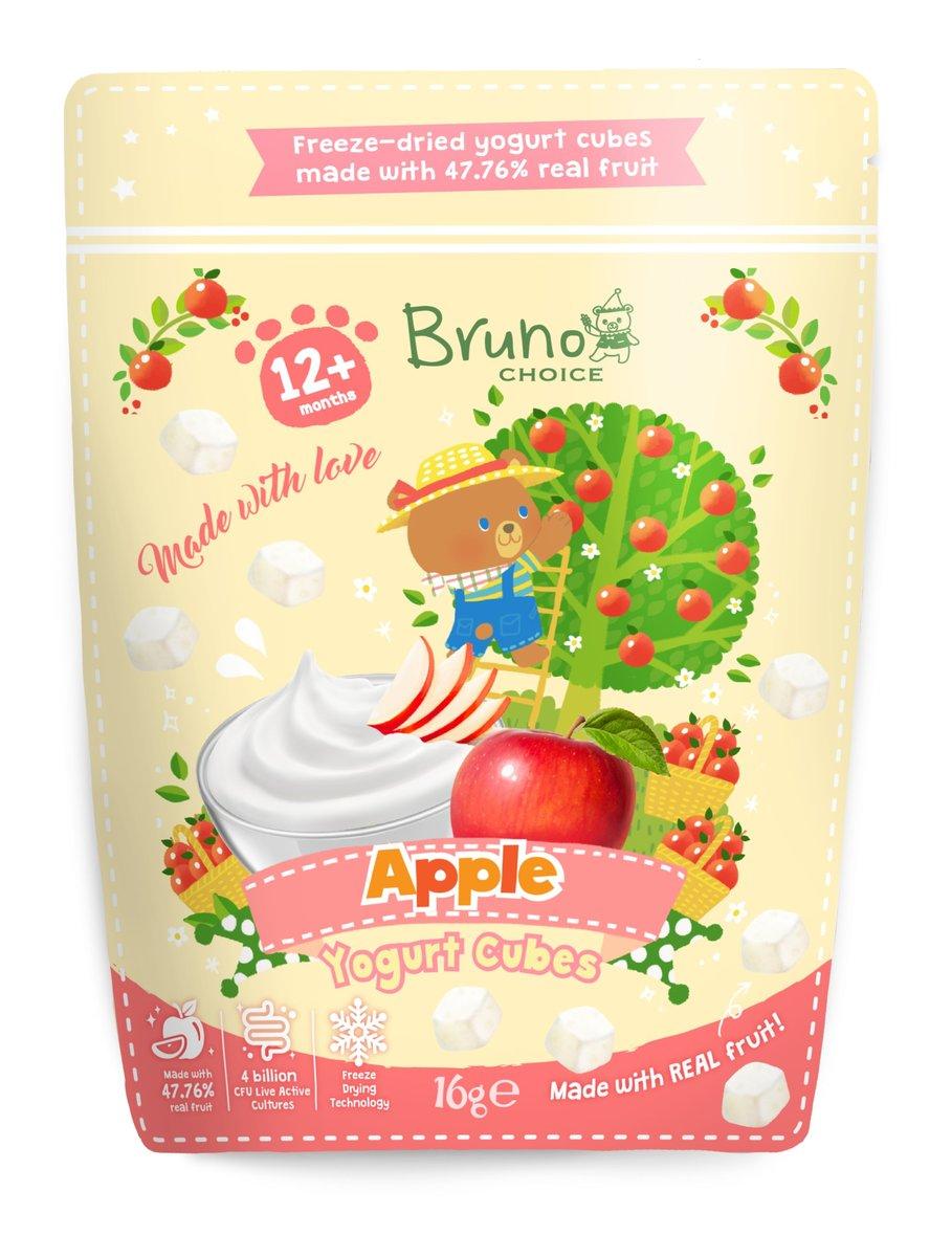 Apple Yogurt Cubes 16g
