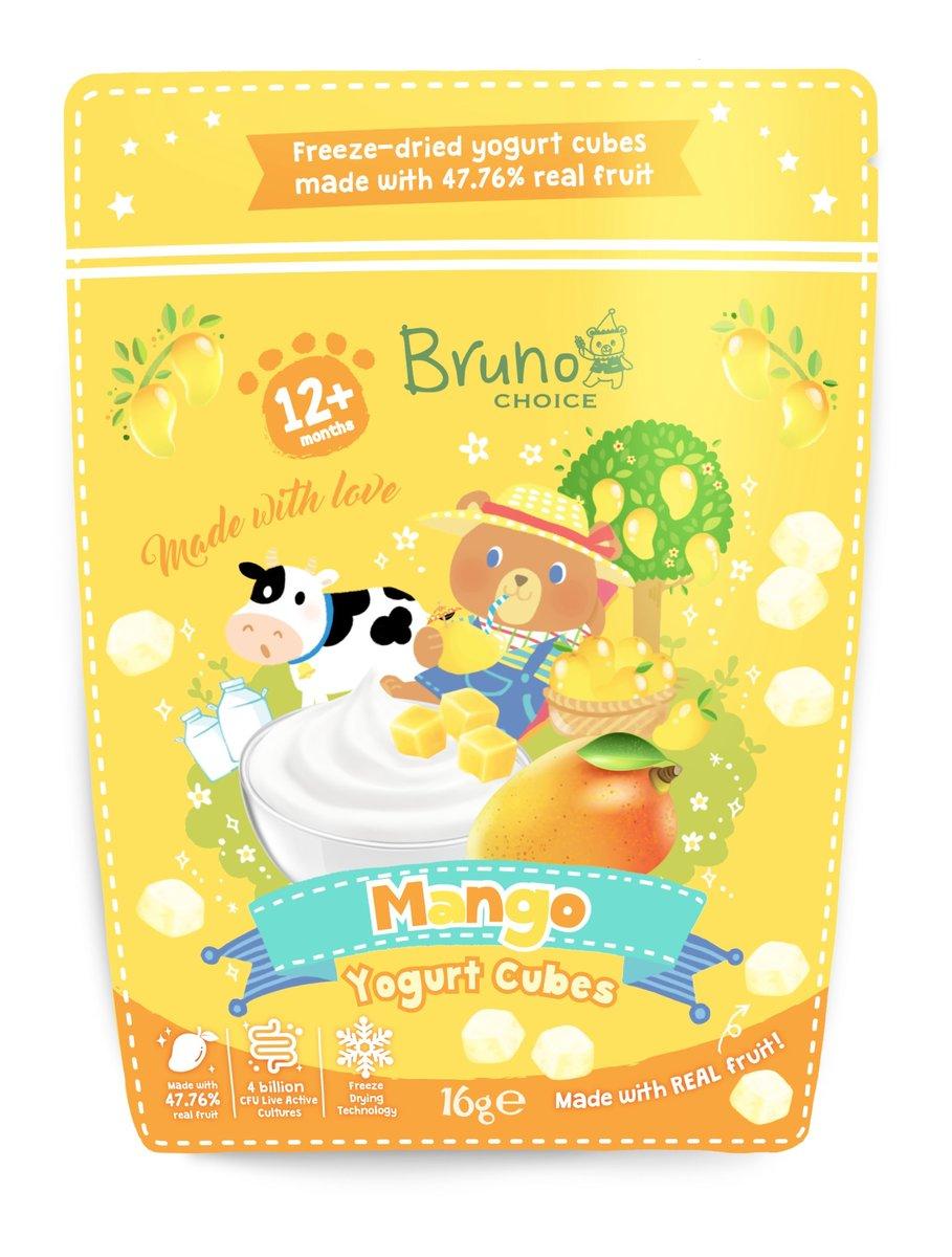 Mango Yogurt Cubes 16g