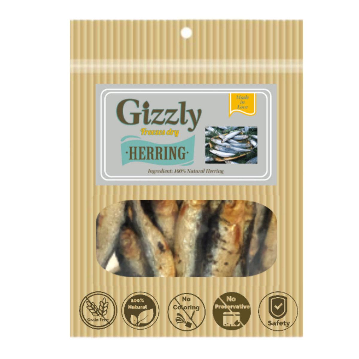 Premium fresh freeze dry herring