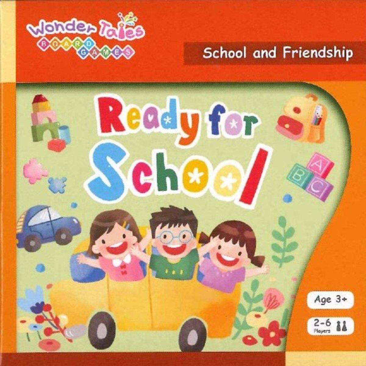 Wonder Tales Board Games 英語桌遊—Ready for School