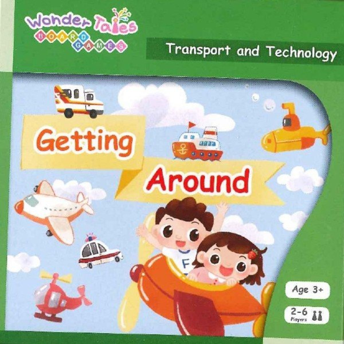 Wonder Tales Board Games 英語桌遊—Getting Around