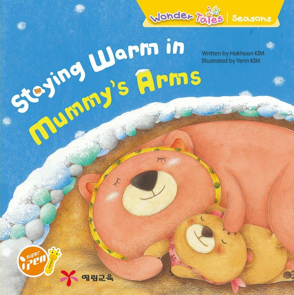 Wonder Tales 英文繪本 (K2)—Staying warm in mummy's arms