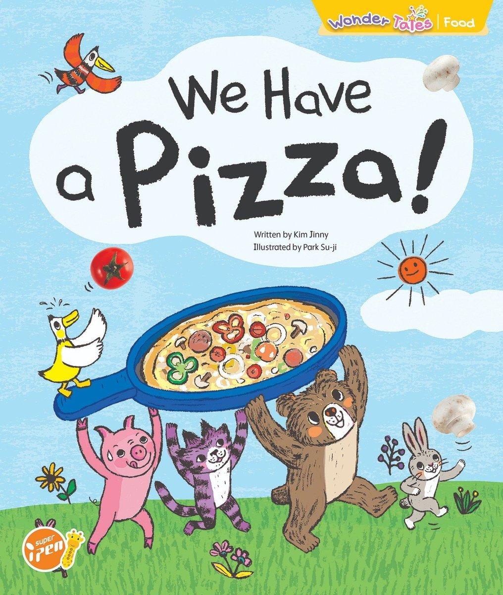 Wonder Tales 英文繪本 (K2)—We have a pizza!