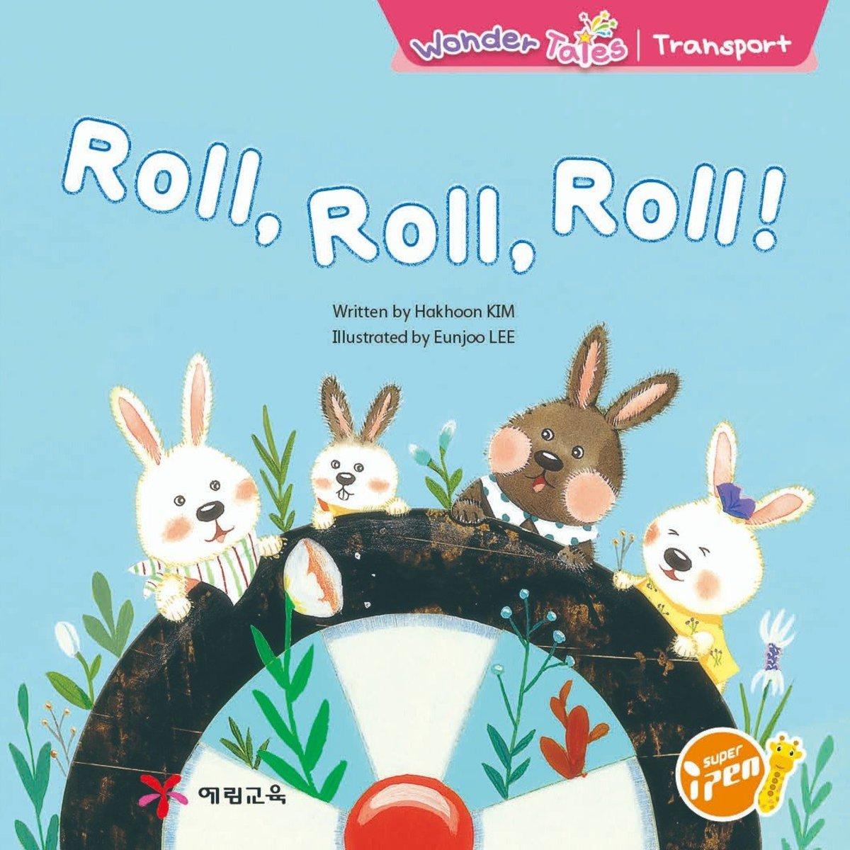 Wonder Tales 英文繪本 (K1)—Roll, Roll, Roll!