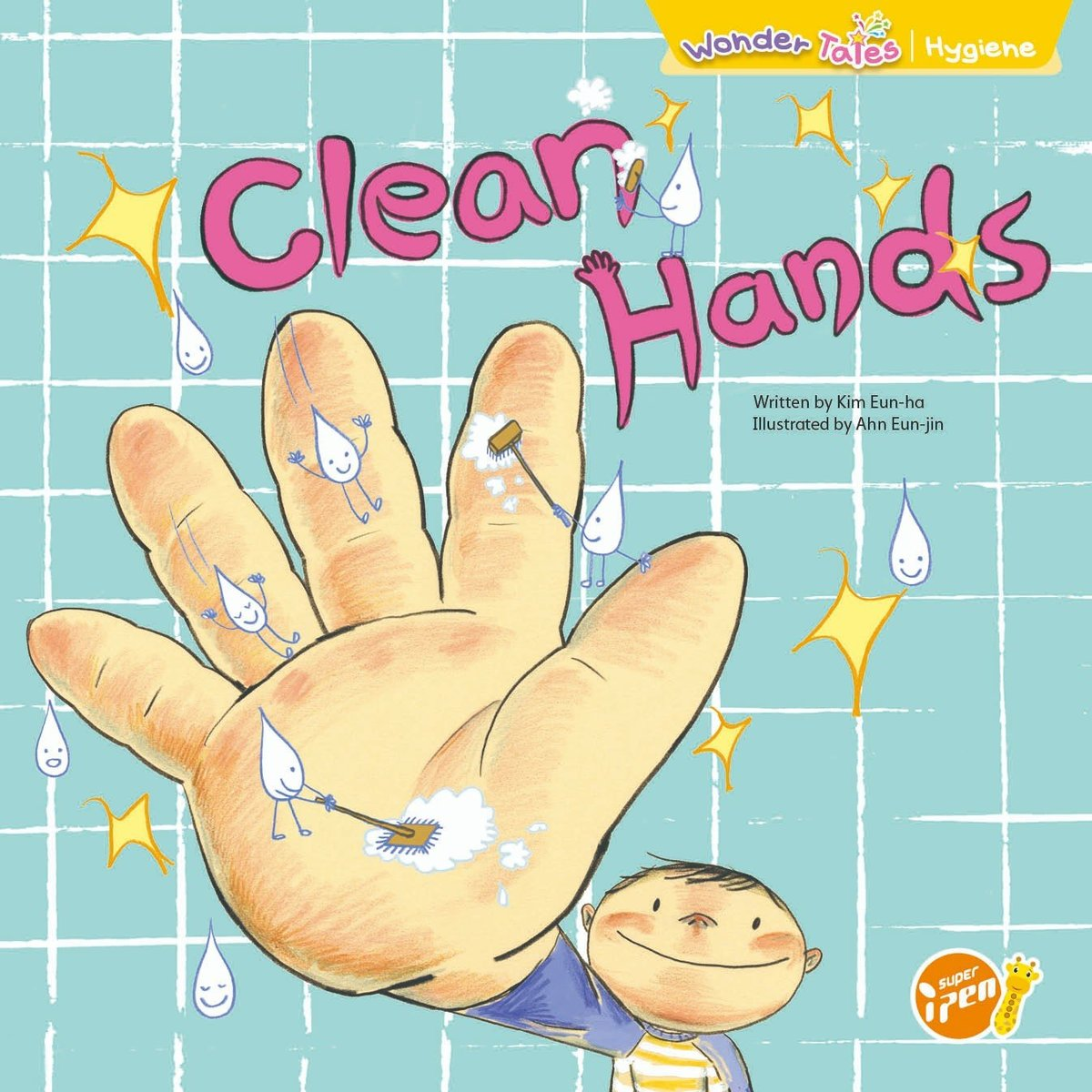 Wonder Tales 英文繪本 (K2)—Clean Hands