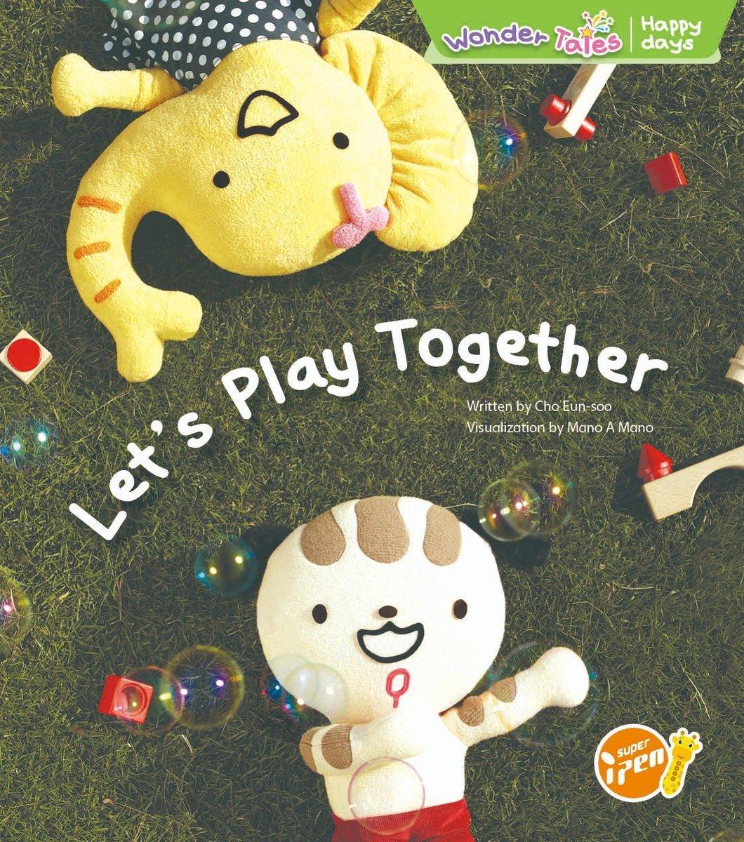 Wonder Tales 英文繪本  (K3)—Let's Play Together
