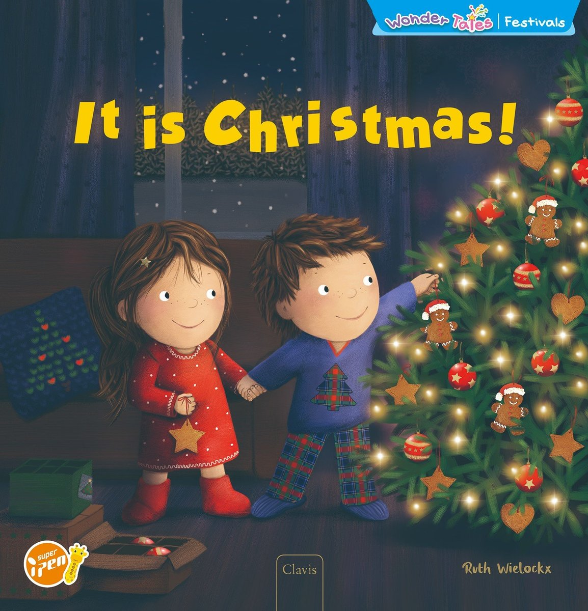 Wonder Tales 英文繪本  (International)—It is Christmas!