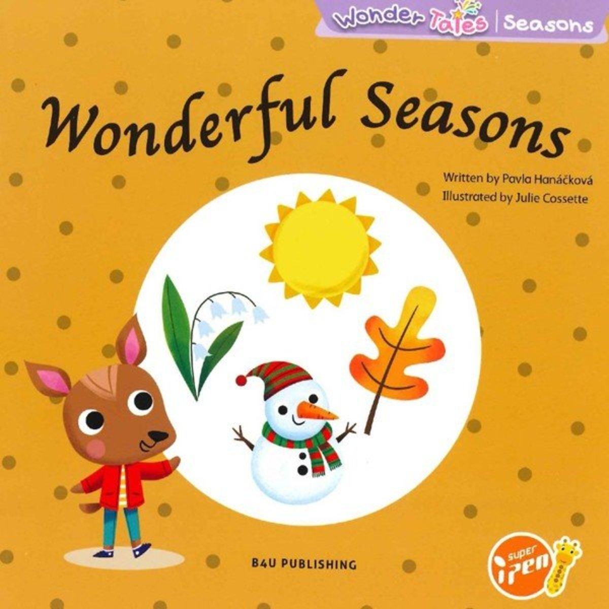 Wonder Tales 英文繪本 (K3)—Wonderful Seasons (Non-fiction)