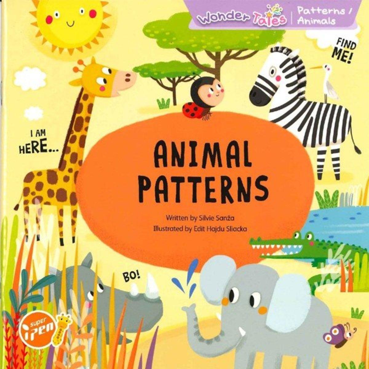 Wonder Tales 英文繪本 (K3)—Animal Patterns (Non-fiction)