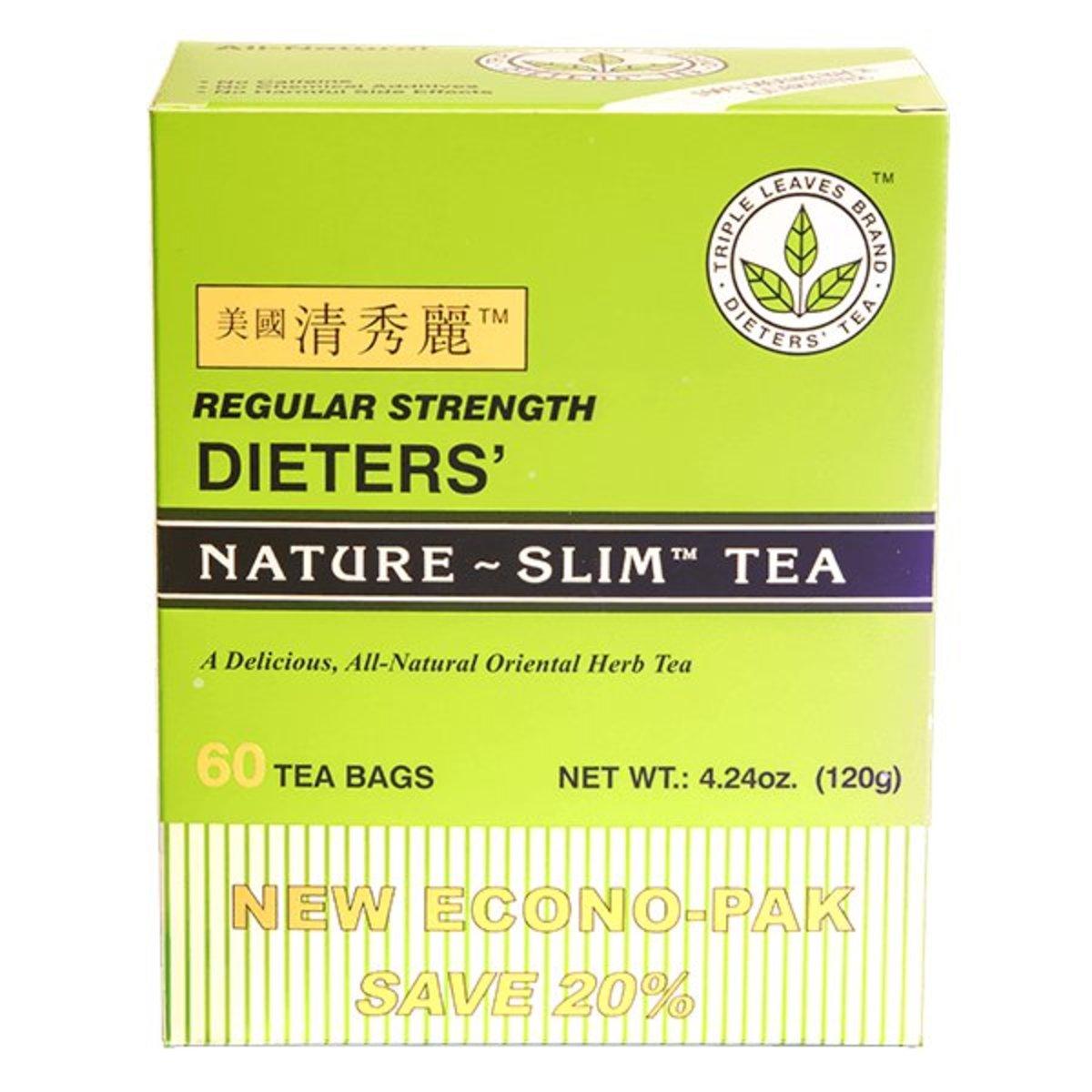 清秀麗減肥茶 (60 茶包)