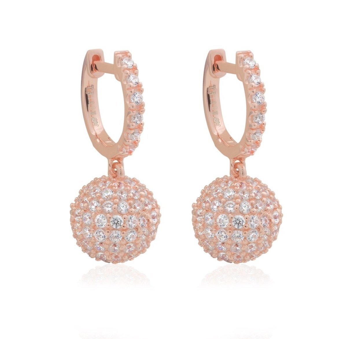 CLASSIC: Rose Gold Plated Earring