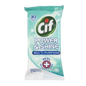 潔而亮 CIF 殺菌清潔多用途濕紙巾 30片